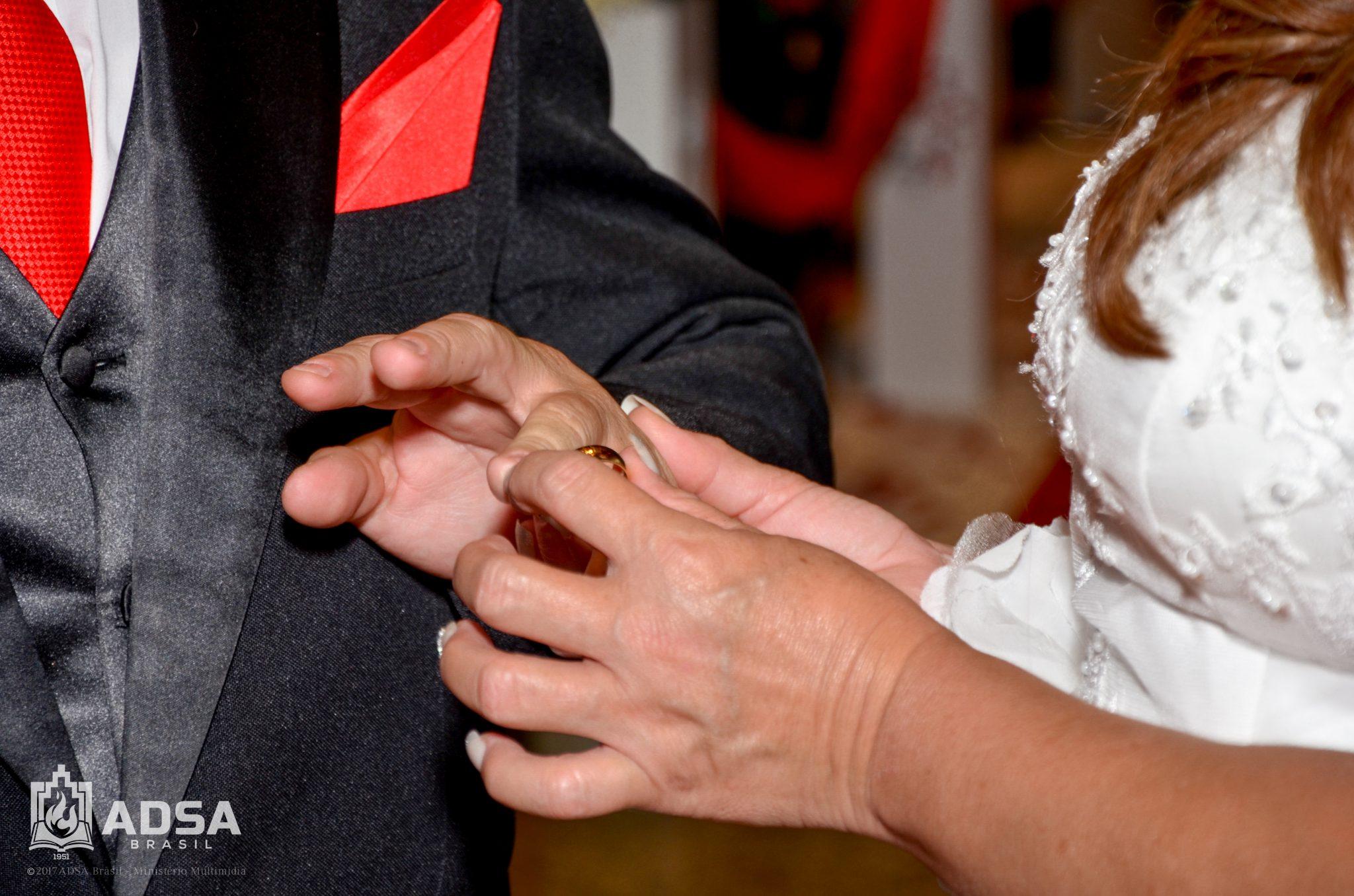ADSA Brasil consagra união de casais com a realização do 1º casamento comunitário